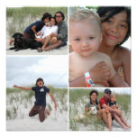 Customizable Family Photo Collage Print