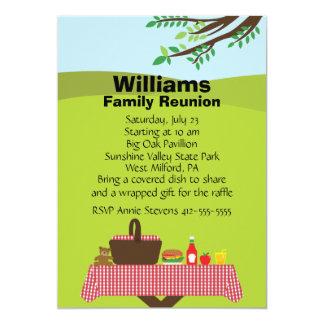 "Customizable Family Reunion 5"" X 7"" Invitation Card"