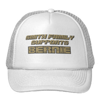 Customizable Family Supports Bernie. Trucker Hat