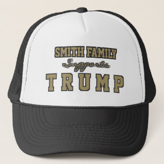Customizable Family Supports Trump. Trucker Hat