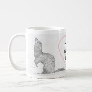 Customizable Ferret Mug - Dimitri - Warm the Heart