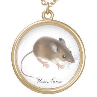Customizable Field Mouse Necklace