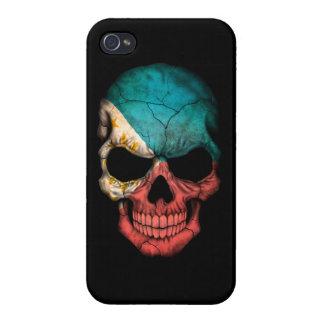 Customizable Filipino Flag Skull iPhone 4 Cover