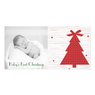 Customizable First Christmas Photo Cards