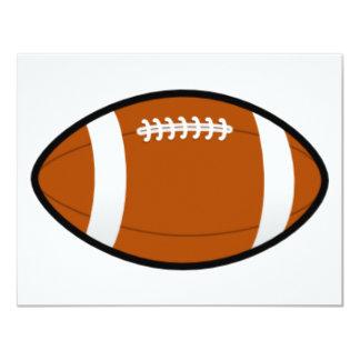 Customizable Football Invitations