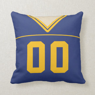 Customizable Football Jersey Pillow Cushion, LAX