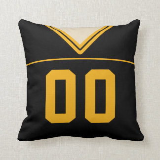 Customizable Football LAX Jersey Pillow Cushion