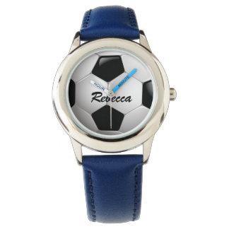 Customizable Football Soccer Ball Watch