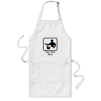 Customizable for a Man who Cooks Long Apron