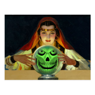 Customizable Fortune Teller Postcard