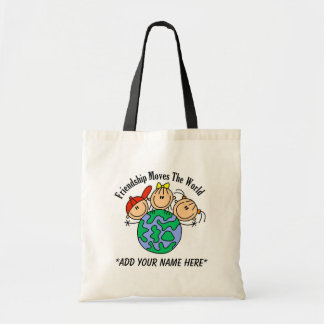 Customizable Friendship Tote Bag