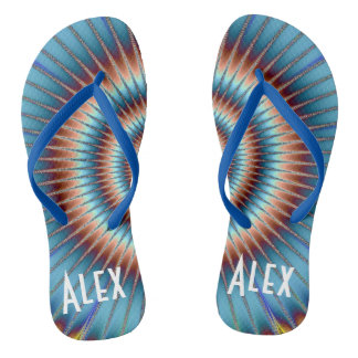 Customizable Fun Unisex Flip Flops,Free your feet! Flip Flops