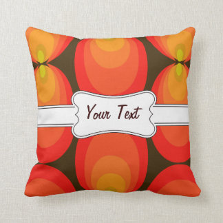 Customizable! FUN With LABELS Throw Pillow