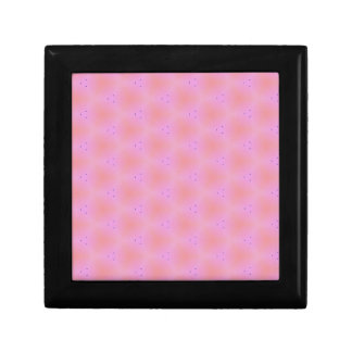 Customizable Funky Girly Pink  Background Pattern Keepsake Boxes