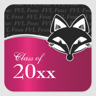 Customizable FVLHS Graduation Sticker