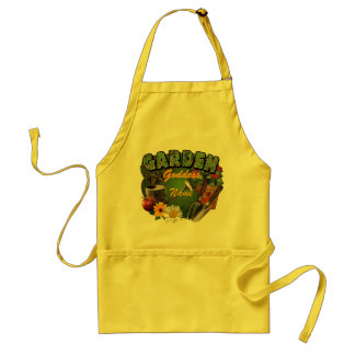 (Customizable) Garden Goddess Standard Apron