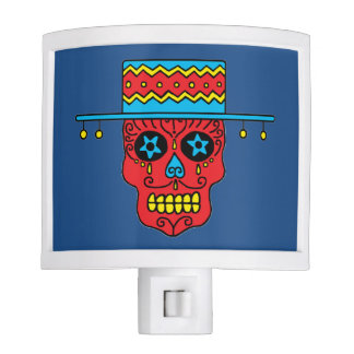 Customizable Gaucho Sugar Skull Nite Lites
