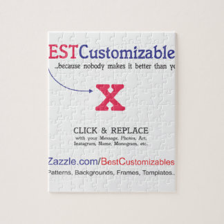 Customizable Gift Template Puzzle