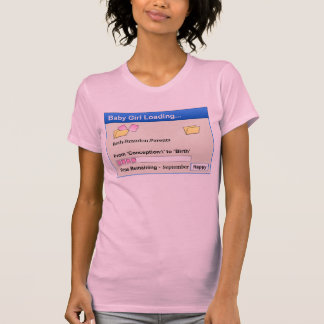 Customizable - Girl Loading T-Shirt