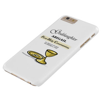 Customizable, Goddaughter First Communion Chalice Barely There iPhone 6 Plus Case