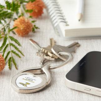 Customizable, Godson First Communion Chalice Keychain