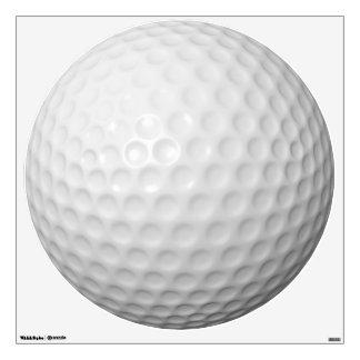Customizable Golf Ball Round Wall Decal