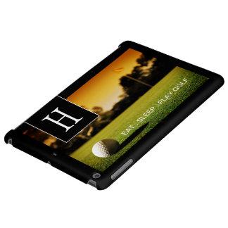Customizable Golf Enthusiast iPad Air Case