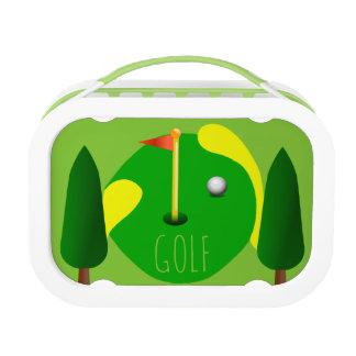 Customizable Golf Lunch Boxes