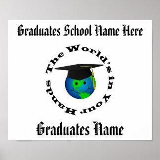 Customizable Graduation Certificate Poster