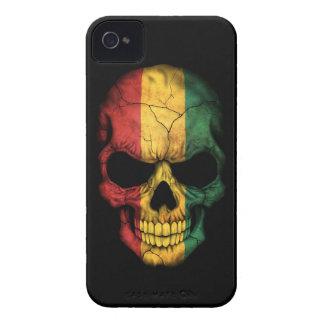 Customizable Guinea Flag Skull Case-Mate iPhone 4 Case
