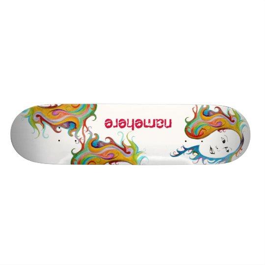 Customizable: Hair style Skateboard Decks