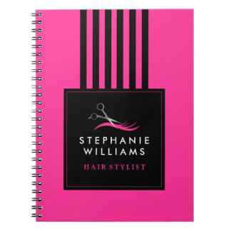 Customizable Hair Stylist Note Book