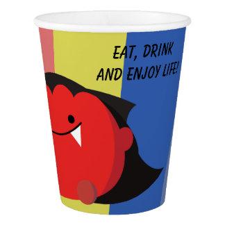 Customizable Halloween - Cute Mochi Friends Paper Cup