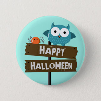 Customizable Halloween - Mochi Haunted House 2 Inch Round Button