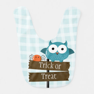 Customizable Halloween - Mochi Haunted House Bib