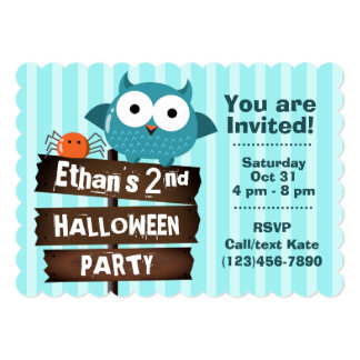Customizable Halloween - Mochi Haunted House Card