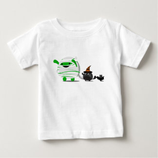 Customizable Halloween - Mochi Mummy and Friends Baby T-Shirt
