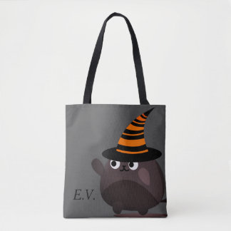 Customizable Halloween - Mochi Mummy Leader Tote Bag