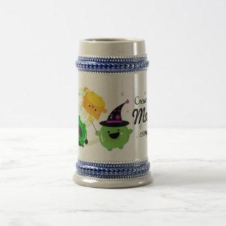 Customizable Halloween - Mochi Witch Hocus Pocus Beer Stein