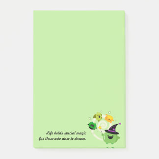 Customizable Halloween - Mochi Witch Hocus Pocus Post-it Notes