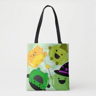 Customizable Halloween - Mochi Witch Hocus Pocus Tote Bag