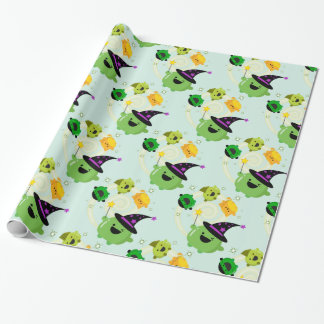 Customizable Halloween - Mochi Witch Hocus Pocus Wrapping Paper