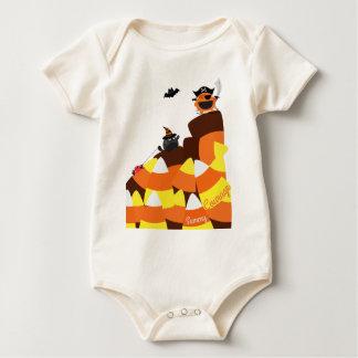 Customizable Halloween - Pirate Courage Baby Bodysuit