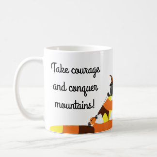 Customizable Halloween - Pirate Courage Coffee Mug