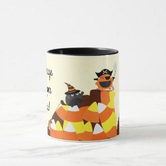Customizable Halloween - Pirate Courage Mug