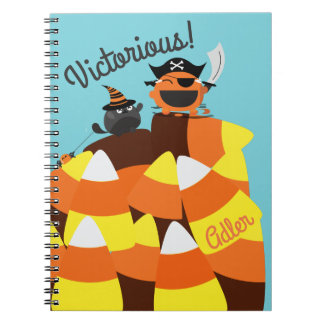 Customizable Halloween - Pirate Courage Notebooks