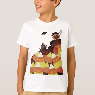 Customizable Halloween - Pirate Courage (Vintage) T-Shirt