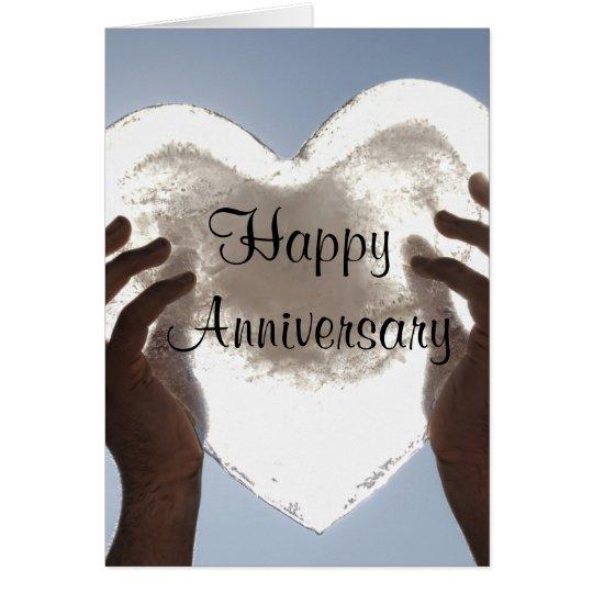 Customizable Happy Anniversary Card
