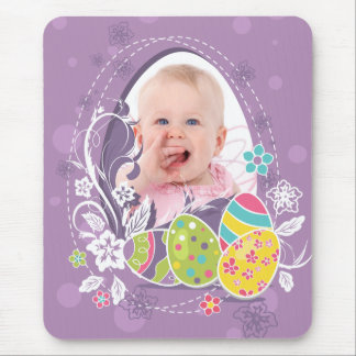 Customizable Happy Easter greeting Mouse Pad