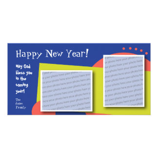 Customizable Happy New Year Photo Card